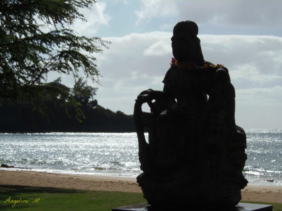 Kalapaki Beach Silhouette