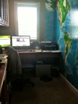 Getting in to my home office to start the day