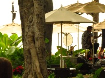 Music on the beach in Waikiki