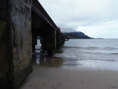Hanalei Bay Pier on Kauai