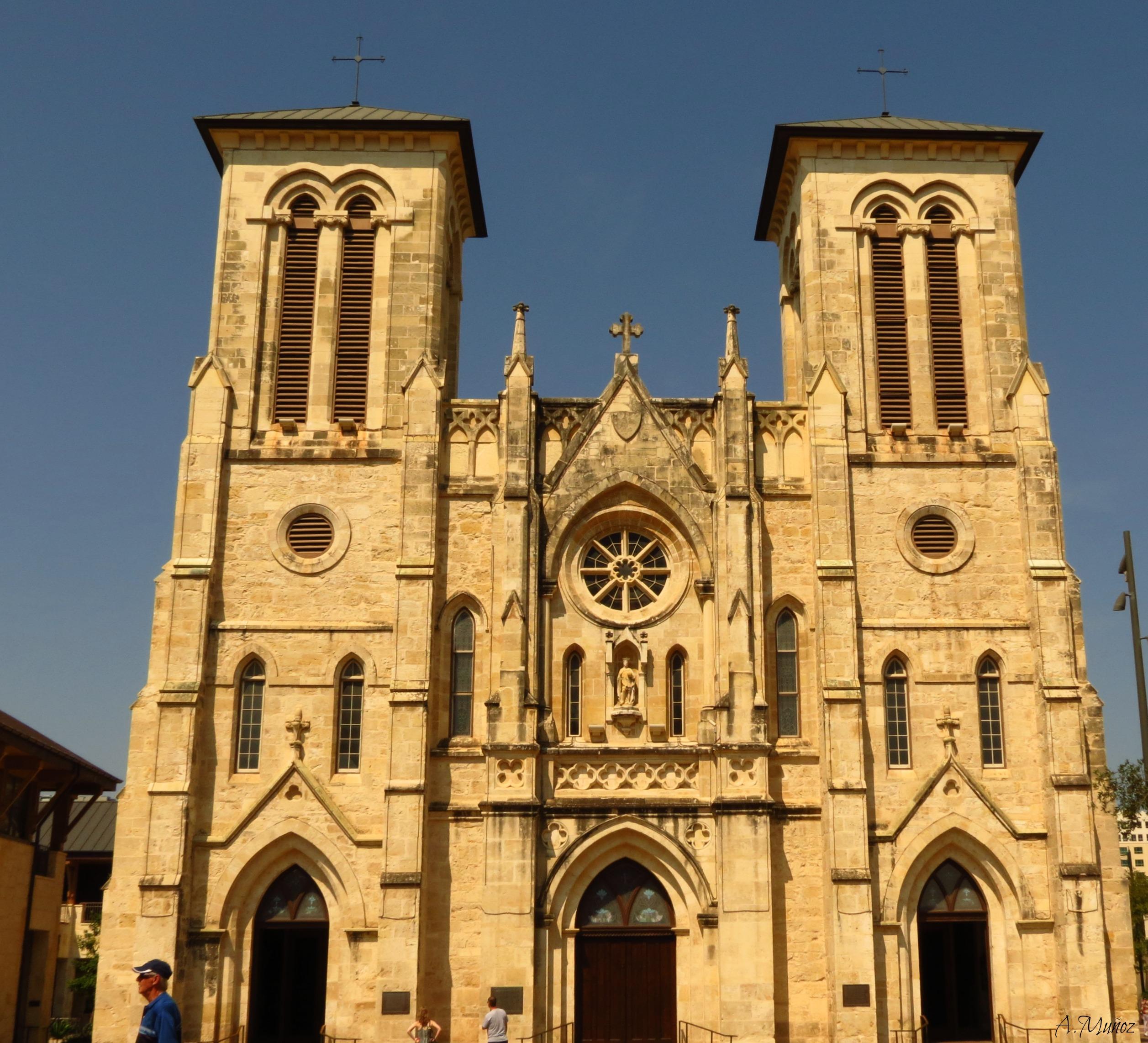 The Sunday Chronicle San Antonio S San Fernando Cathedral