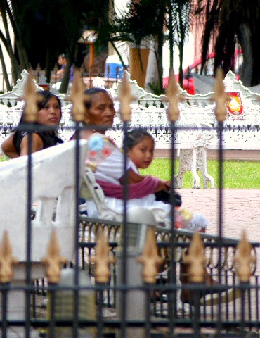 family in park, Valladolid
