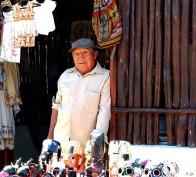 Ek Balam vendor